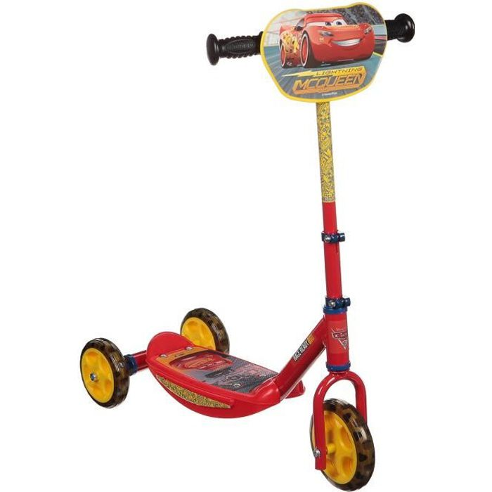PATINETTE - TROTTINETTE CARS 3 Smoby Patinette 3 Roues
