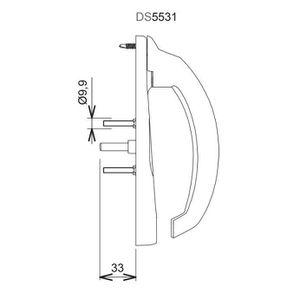 Lorsoul Multifonctions Couverts en Acier Inoxydable Fourchette cuill/ère Pliable de Split Vaisselle Voyage ext/érieur Portable