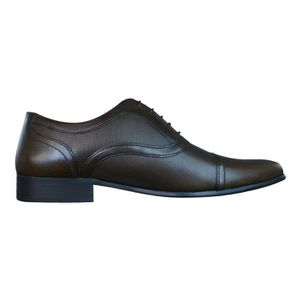 Red Tape Potton hommes en cuir Loafers - Chaussures Black 9 3sk1aE
