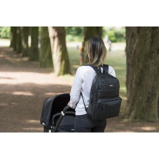 Popolare acquisto Diaperbackpack nero Langer Backpack Black Kidzroom XxqwFEOtAR