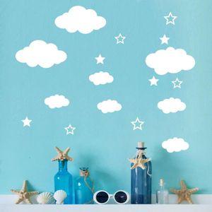 Stickers nuage - Achat / Vente pas cher