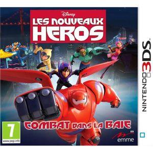 JEU 3DS Disney Les Nouveaux Héros - Bataille dans la Baie