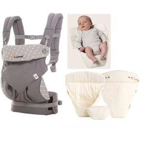 PORTE BÉBÉ Ergobaby porte-bébé 4P 360 Dewy Grey avec coussin