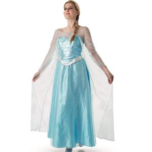 DÉGUISEMENT - PANOPLIE Costume Déguisement - Adulte ELSA Reine des Neiges
