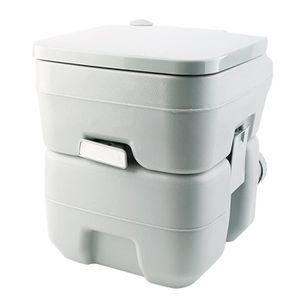 WC - TOILETTES 20L Toilettes WC Portable Chimique pour Camping, C