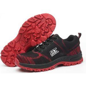 nouveau produit d20cc 28e3a Chaussures de sécurité rouge homme - Achat / Vente ...