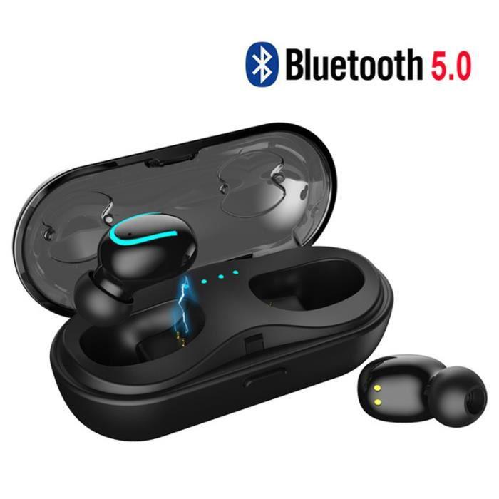 Oreillette Bluetooth Sans Fil Ultra-compacte Exclusive Pour Sports Q13tws Stealth 4.2