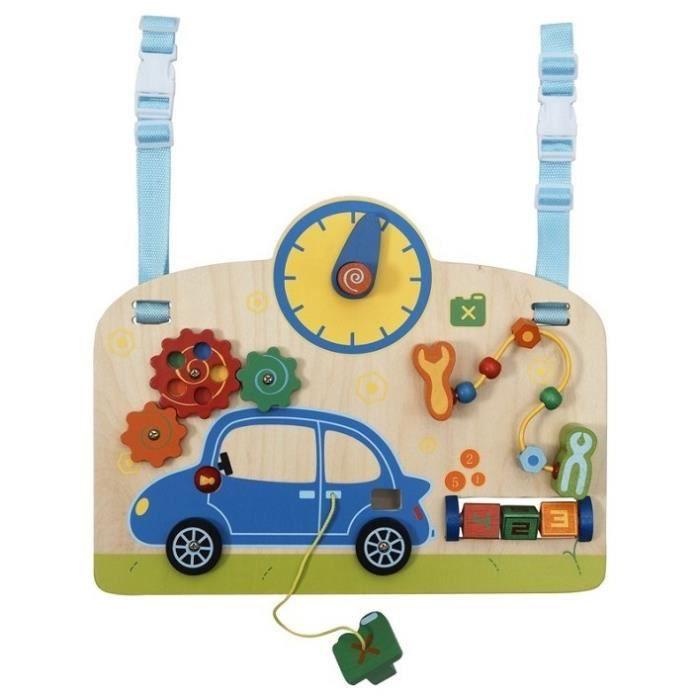 TABLE JOUET D'ACTIVITÉ Table d'activités bébé Au Garage