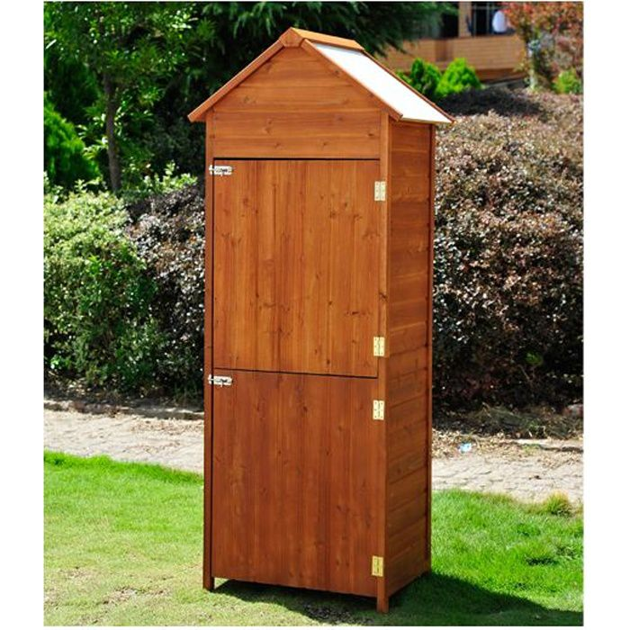 abri en bois abri de jardin rangement outils exterieur. Black Bedroom Furniture Sets. Home Design Ideas
