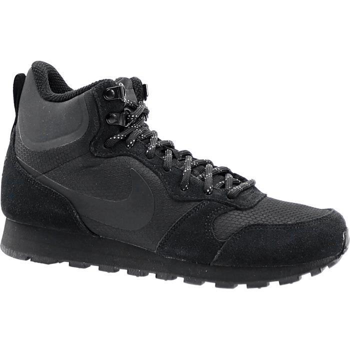 Nike MD Runner 2 Mid Prem 844864-002 844864-002 Homme Baskets Noir