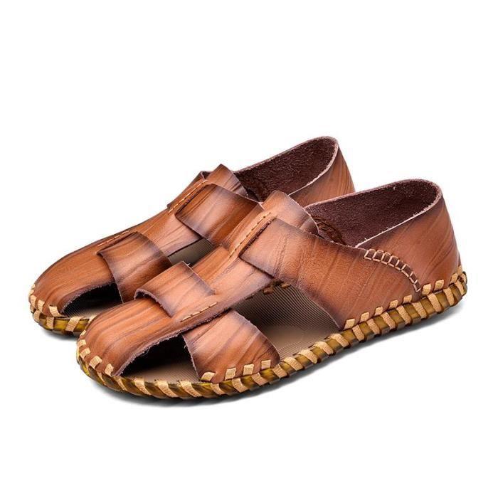 Sandales 2018 Simple Hommes Créatif Nouveaux Été Chaussures Occasionnelles De La Mode aUgazx
