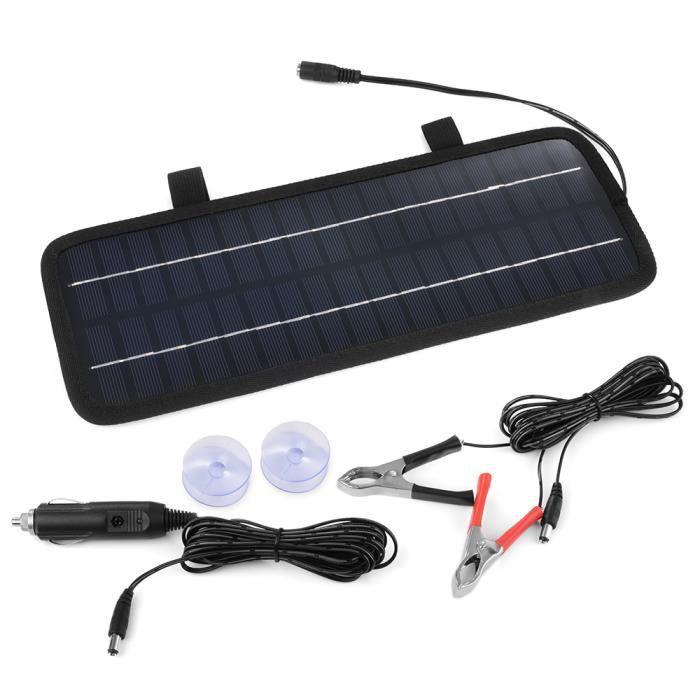xcsource 4 5w 12v panneau solaire chargeur de batterie pour voiture automobile moto camion. Black Bedroom Furniture Sets. Home Design Ideas