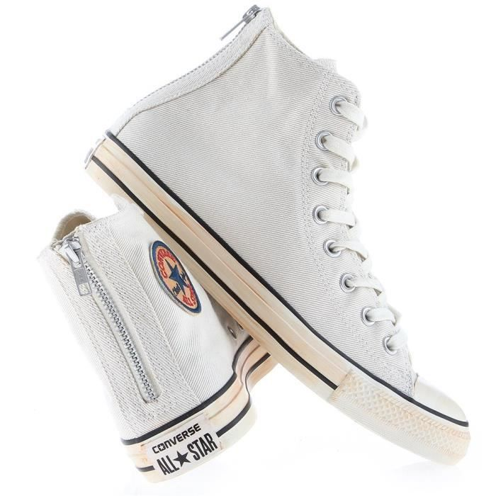 Chaussures Converse Chuck Taylor All Star Back Zip Turtledove maHkf