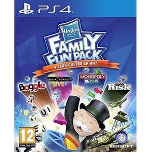 JEU PS4 Hasbro Family Fun Pack Jeu PS4