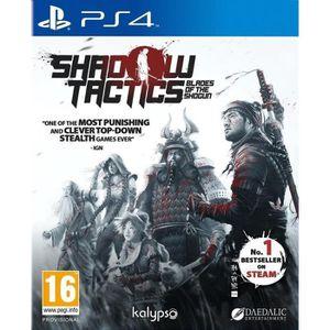 JEU PS4 Shadow Tactics: Blades of The Shogun Jeu PS4