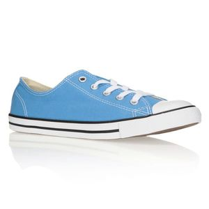 converse basse turquoise