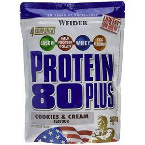 WEIDER Sachet de Protein 80+ Cookies-Creme 500g
