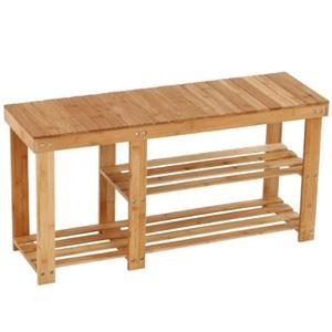 etagere bambou achat vente etagere bambou pas cher cdiscount. Black Bedroom Furniture Sets. Home Design Ideas