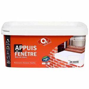 PEINTURE - VERNIS PEINTURE POUR APPUIS DE FENÊTRE - 1 Litre - GRI...