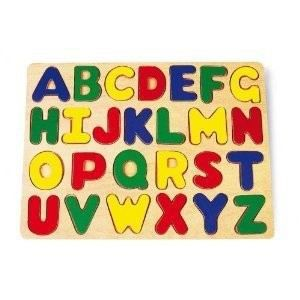 PUZZLE Puzzle à encastrer Alphabet en bois (1026)