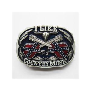 CEINTURE ET BOUCLE boucle de ceinture i like country music coloré hom 57f2e724535