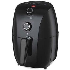FRITEUSE ELECTRIQUE Trebs Friteuse à air chaud 900 W 1,5 L Noir 99354