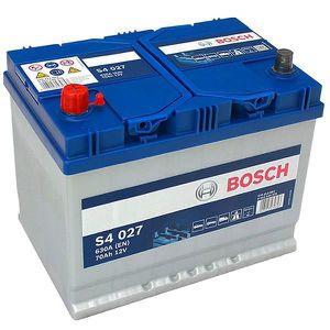 BATTERIE VÉHICULE Batterie BOSCH Bosch S4027 70Ah 630A - 36646340261