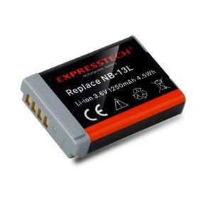 BATTERIE APPAREIL PHOTO Remplacement Batterie batterie NB-13L nb13l pour C