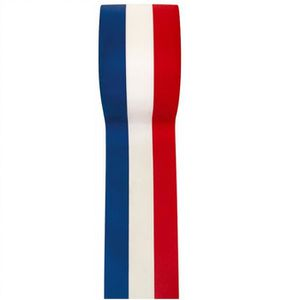 TULLE - NOEUD - RUBAN REF/2800 - 1 Ruban tricolore France 10mm x 25m