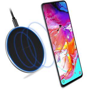 CHARGEUR TÉLÉPHONE Samsung Galaxy A70 chargeur sans fil induction QI