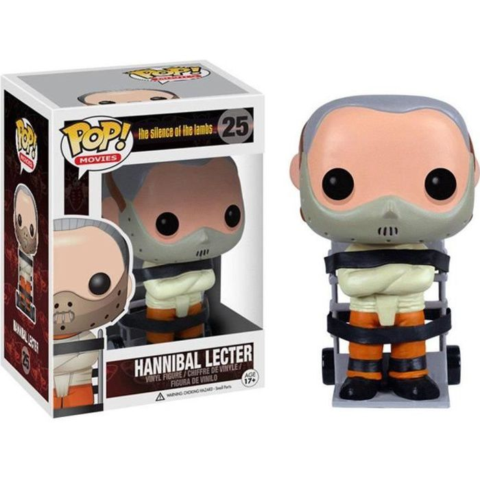 Figurine Funko Pop! The Silence of the Lambs: Hannibal Lecter