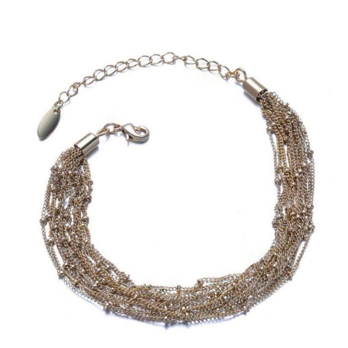 BraceletUne véritable Bote cadeau Mme bracelet en or rose