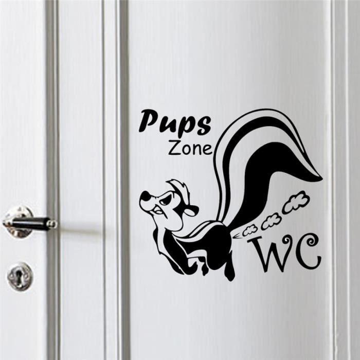 de chiots zone stickers muraux toilettes wc westroom d corations animaux 362 vinyle. Black Bedroom Furniture Sets. Home Design Ideas