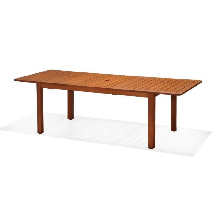 CHILLVERT - Table rectangulaire extensible jardin rectangulaire ...