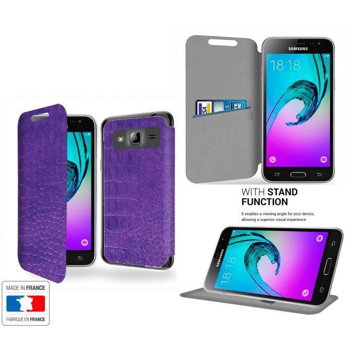 coque samsung galaxy j3 2016 violet