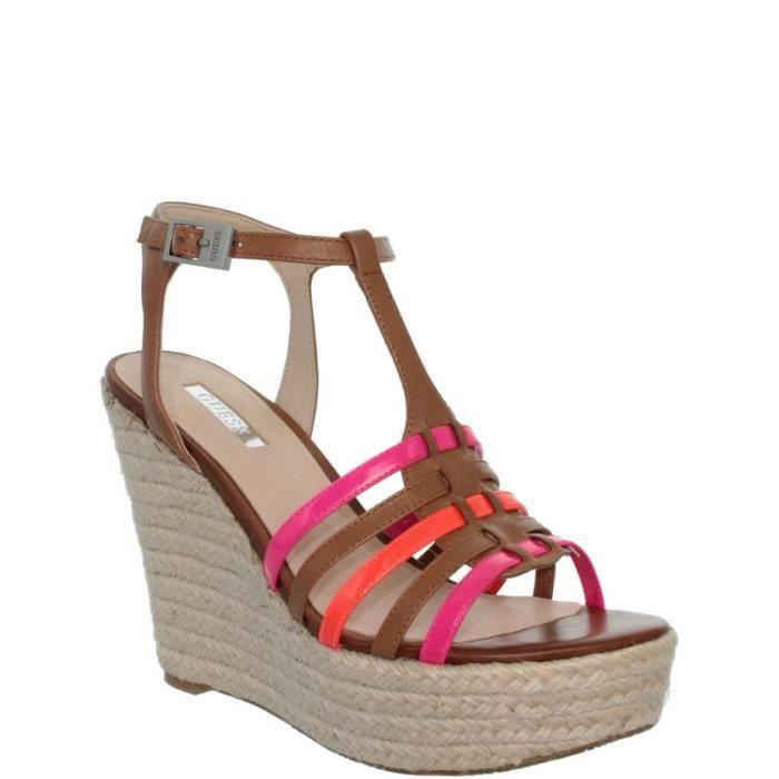 Sandales Guess à talons compensés ref_guess38866-luggage