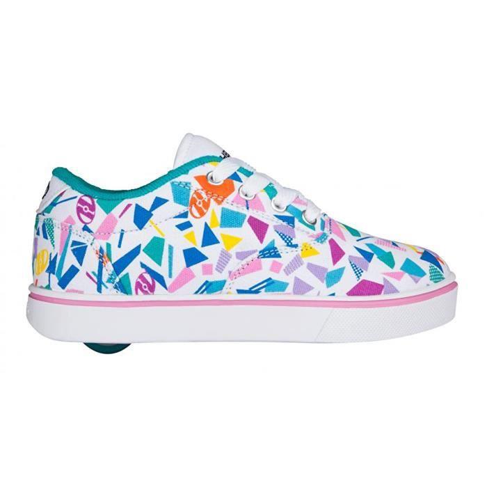 Heelys - Chaussures à roulettes Launch (771024) - blanc/bleu/multicolore 8ftSqdQt
