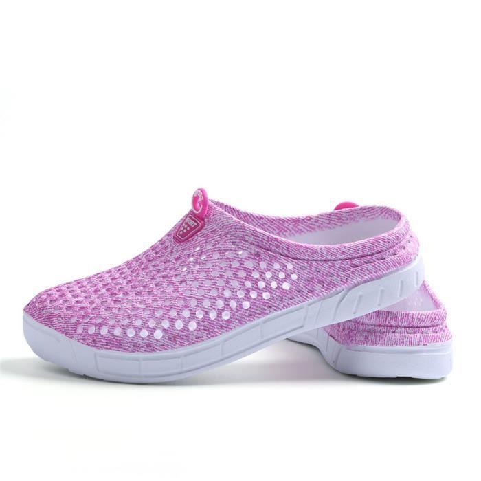 Pantoufles Femmes ete Haut qualité Nouvelle Mode Chaussure Confortable Respirant Classique Pantoufle Grande Taille Plus De Couleur