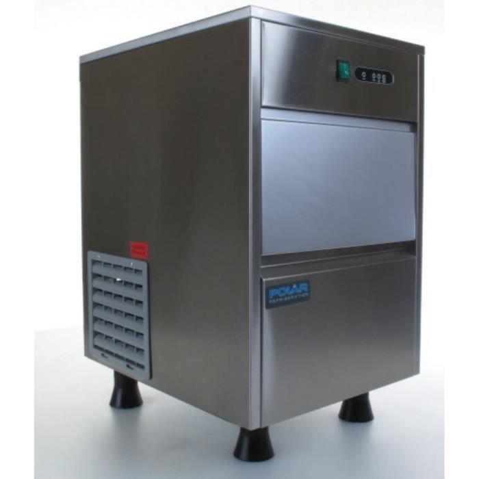 MACHINE À GLACONS Machine à glaçons 20 Kg PRO inox - Remplissage aut