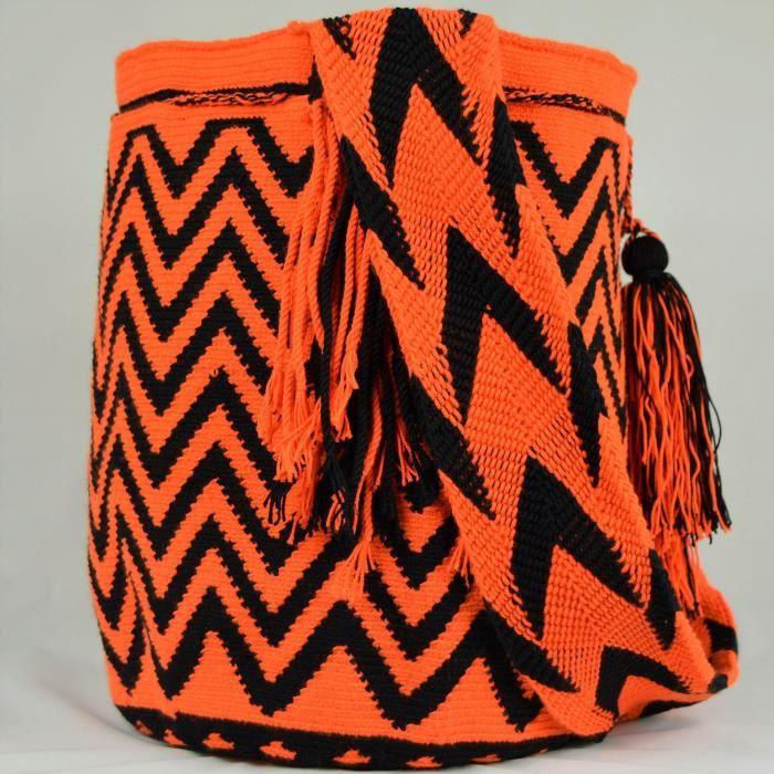Wayuu Sac - Grand Mochila - Design - 3158 R5IN8