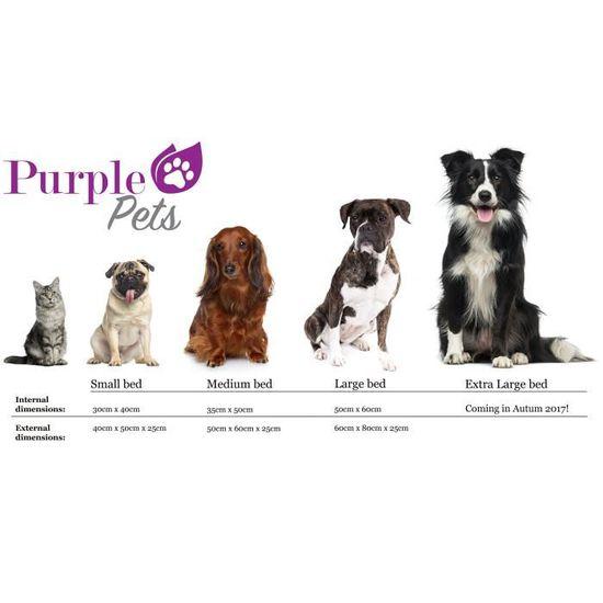 Purple Pets Lit Chien Moderne Lit Chat Panier Chien Matelas Pour