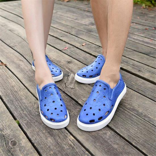 Baskets Femme MS chaussures Luxe Extravagant De Marque De Luxe chaussures Grande Taille Durable Respirant Cool Haut qualité Sneakers Respirant Bleu Bleu - Achat / Vente basket fddd8c
