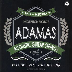 CORDE POUR INSTRUMENT Adamas 1919 Medium Cordes guitare folk acoustique