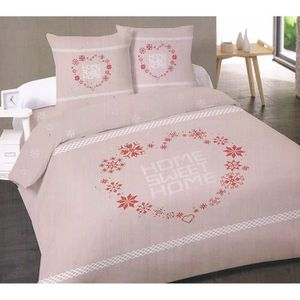 Copripiumino Naf Naf.Gris Naf Naf Housse De Couette 100 Coton Imprime Edith 220x240 Cm