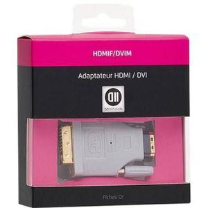 ADAPTATEUR AUDIO-VIDÉO  D2 Adaptateur transformant une prise HDMI mâle en