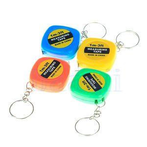 MÈTRE - RUBAN Mini Keychain Porte-clés mètre ruban Facile bande