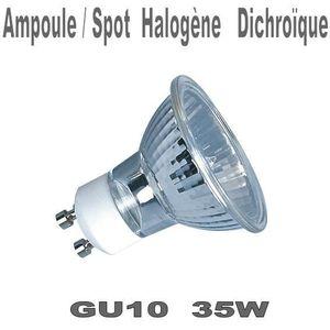 AMPOULE - LED Ampoule spot halogène dichroïque GU10 220v 35W