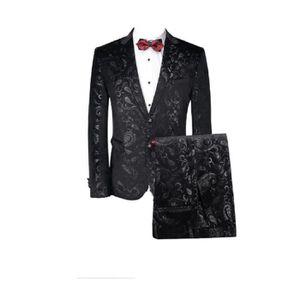 COSTUME - TAILLEUR Costume homme slim en vogue casual de mariage haut ... 1b2c9ae82f3