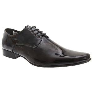 DERBY Goor - Chaussures de ville en cuir verni à lacets