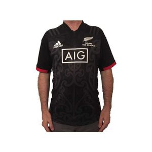 MAILLOT DE RUGBY Maillot rugby Maori All Blacks replica 2018/2019 a